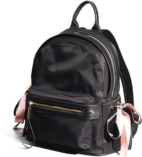 Simple Casual Ms. Mini Mochila negra, Mochila deportiva de