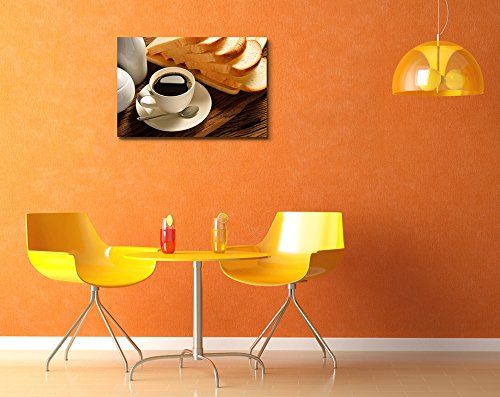 Coffee Cup and Sliced Bread Wall Decor