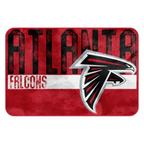 "The Northwest Company Officially Licensed NFL Atlanta Falcons Bath Mat Rug, 20"" x 30"""