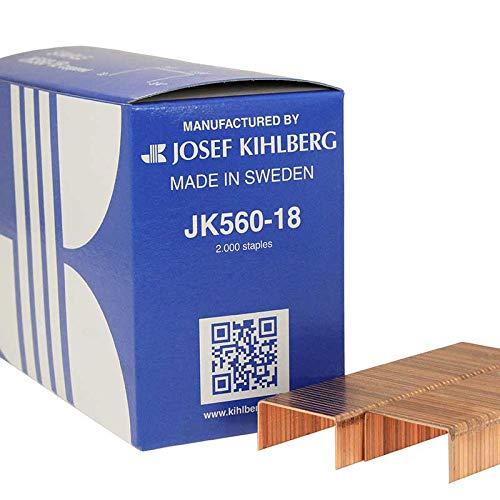 "Galv JOSEF KIHLBERG JK779-12  1//2/"" Light Wire Staple 1 Case of 20 Boxes"