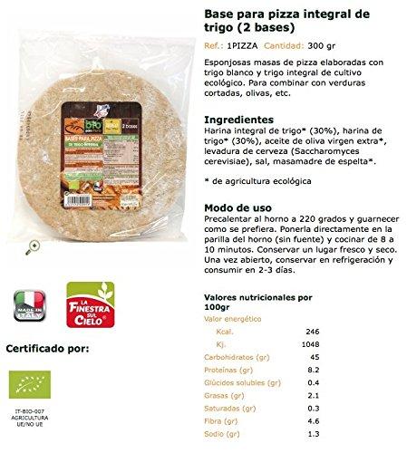 La Finestra Sul Cielo Esponjosas Masas de Pizza - Paquete de 10 x 300 gr - Total: 3000 gr: Amazon.es: Alimentación y bebidas