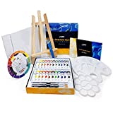 Acrylic and Watercolor Paint Set Supplies