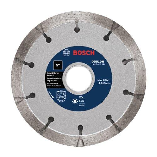 Bosch DD510H 5-Inch Premium Sandwich Tuckpointing Diamond Blade,Grey
