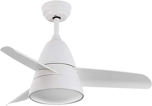 LEDKIA LIGHTING Ventilador de Techo LED Industrial Blanco CCT ...