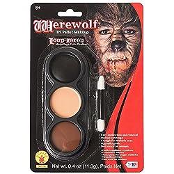 Mehron Inc. 403CW Tri Color Pallettes Werewolf