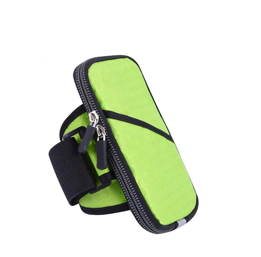 Brassard de Sport étui étanche Porte-clés en Nylon 6 Pouces recouvrable pour iPhone XS Samsung Galaxy S9 S8 S7 S6 Edge Plus