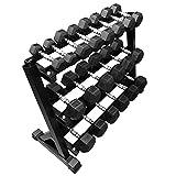 FXR Sports Heavy Duty Hex Dumbbell Rack (Available With Or Without Dumbbells) (Dumbell Rack (Without Dumbbells))