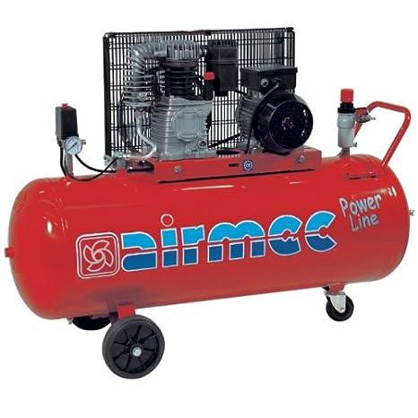 Espuelas - Compresor CRM 152 kc111 pl 1,8 kW - 270 l/min. de aire 230 V monofásico airmec.: Amazon.es: Bricolaje y herramientas