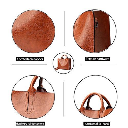 la bandoulière à main de sac sac mode bandoulière sacs main sac à à Messenger rétro des femmes Tisdaini à à Les Marron sac main vZt0x0
