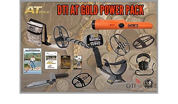 Garrett at Oro Power Pack con Pro Pointer at y 22 x 28 cm Sonda Detector de metales: Amazon.es: Electrónica