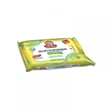 SANO E BELLO Toallitas 50pc citronela - Higiene cosmética de perros