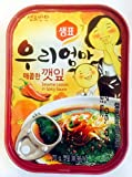 Sempio Canned Sesame Leaves -Spicy (red circle), 90-Grams (Pack of 10)