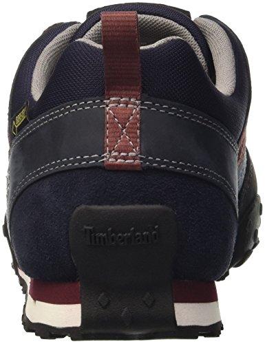 TimberlandGreeley Leather with Goretex Membrane - Low Rise Hiking hombre Blau (Black Iris Saddleback FULL GRAIN)