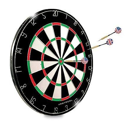 Amazon Com Dartboard 18 Regulation Sized Tournament Dartboard