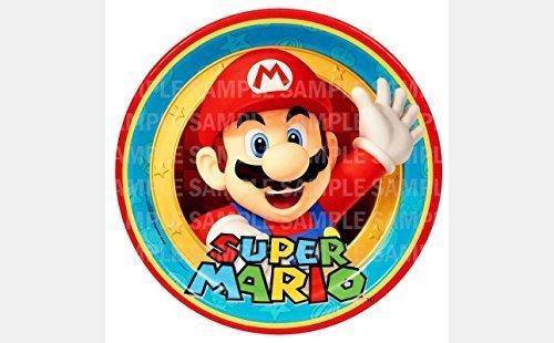 HGC Super Mario Hermanos Bros cumpleaños comestibles Imagen ...