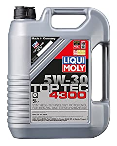 liqui moly 3741 top tec 4300 motor l 5 w 30 5 liter l. Black Bedroom Furniture Sets. Home Design Ideas