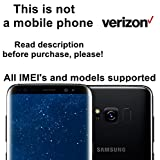 Verizon USA Factory Unlock Service for Samsung Galaxy S8, S8+, S7, S7 Edge, S6, S6 Edge and Other Models - All IMEI`s Supported - Feel the Freedom