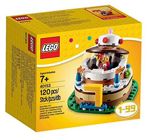 LEGO Birthday Decoration Cake Set 40153