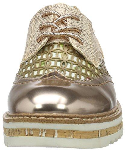 355 V7002pr6nl Bugatti da basse donna sneakers rosegold oro nAwqw60d1