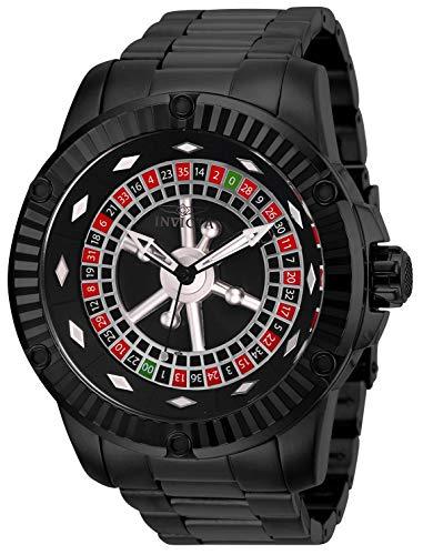 Invicta Specialty Casino Automatic Black Dial Men's Watch 28712