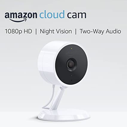 Review Amazon Cloud Cam Security Camera, Works with Alexa