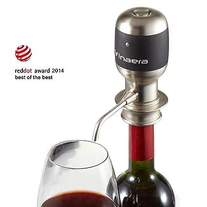Vinaera World s First electrónico de vino y aireador de espíritu/ dispensador de 750
