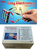 electronics kit make - ProTechTrader Make: Easy Electronics Kit Bundle - Includes Paperback Handbook by Charles Platt and Electronic Components Pack