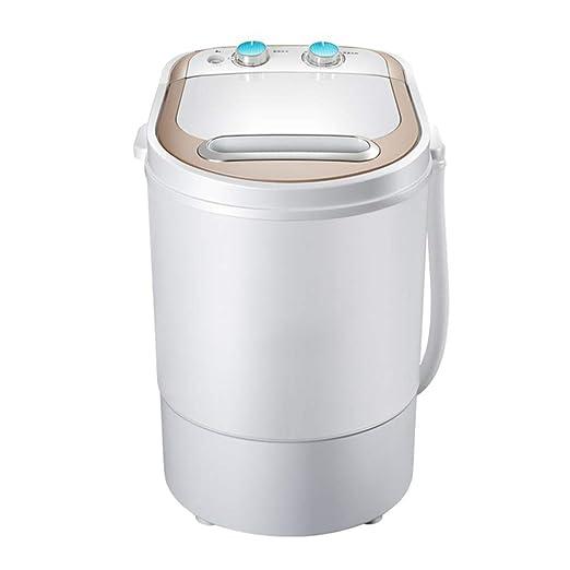 TQMB Lavadora portátil, Mini Lavadora de Ropa de una Sola bañera ...
