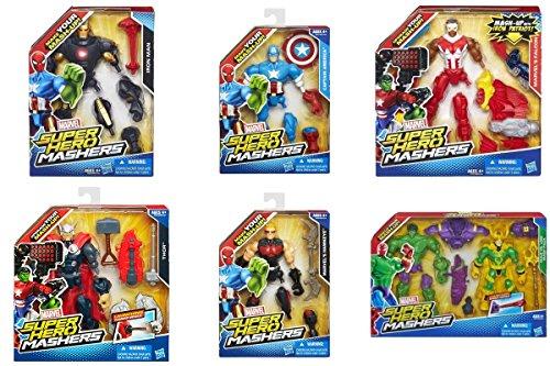 [Marvel Super Hero Mashers Avengers Villian set] (Superheros And Villians)