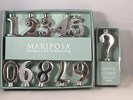 Image Unavailable Not Available For Color Mariposa Birthday Number Candle Holder