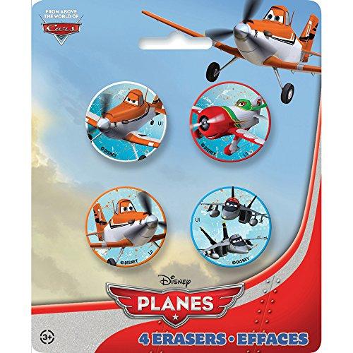 [Disney Planes Eraser Party Favors, 4ct] (El Chupacabra Planes Costume)
