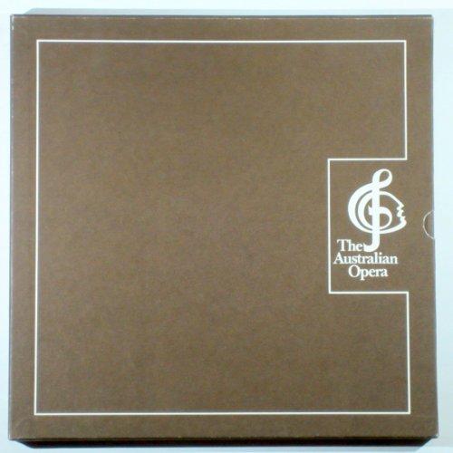 The Australian Opera; Great Singers Book, Portfolio Of Prints LP Box Set; Sydney Opera House Commenorative.