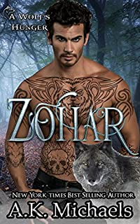 Zohar by A K Michaels ebook deal