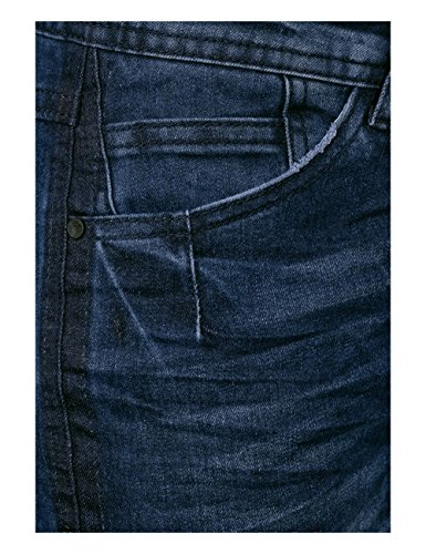 Blu Wash Slim Blue Cecil Donna mid Jeans 10281 R6wfUqO