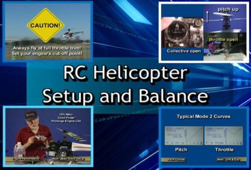 Rc Helicopter Videos - RC HELICOPTER SETUP & BALANCE