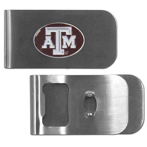 Siskiyou NCAA Texas A&M Aggies Bottle Opener Money Clip ()