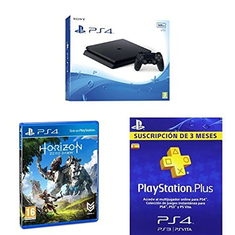 PlayStation 4 Slim (PS4) - Consola de 500 GB + Horizon Zero ...