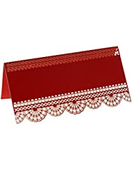 amazon com red place cards place card holders accessories