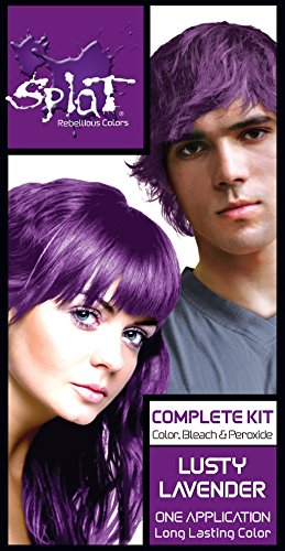Splat Rebellious Fantasy Complete Hair Color Kit in Lusty Lavender