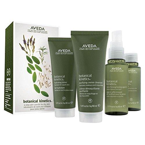 (AVEDA Botanical Kinetics Skincare Set 4-step Skincare Kit Dry/Normal )