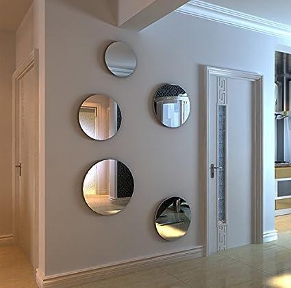 Loterong Un Specchio Circolare Parete 3D Tridimensionale Di ...