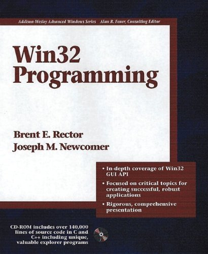 Win32 Programming (Addison-Wesley Advanced Windows Series)(2 Vol set) Paperback – Unabridged, January 16, 1997 by addison-wesley professional (january 16, 1997)