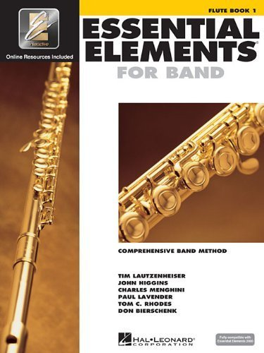Essential Elements for Band - Book 1 with Eei: Flute [With CDROM] by unknown (2002) Paperback