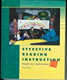 img - for Effective Reading Instruction, K-8 by Donald J. Leu (1995-01-03) book / textbook / text book