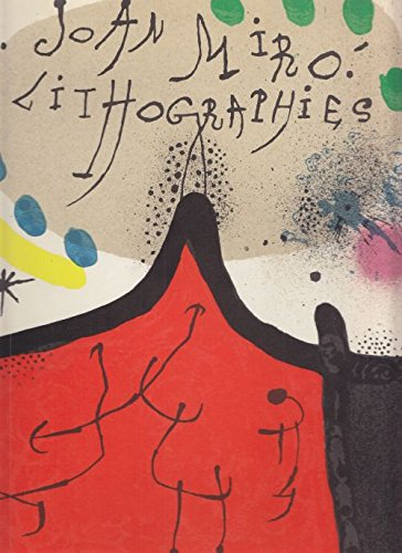 JOAN MIRÓ (MIRO). Litógrafo I. (Lithographies). With 11 Original Lithographs by Joan Miró.