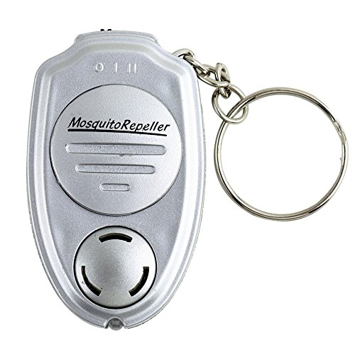 Travel Insect Repellent Keychain - Portable Mosquito Pest Control Ultrasonic - Best For OutdoorIndoor Use - For Men and Women - Kids & Pets Safe - Pesticide Odor & Deet Free - Mosquitoes Repeller