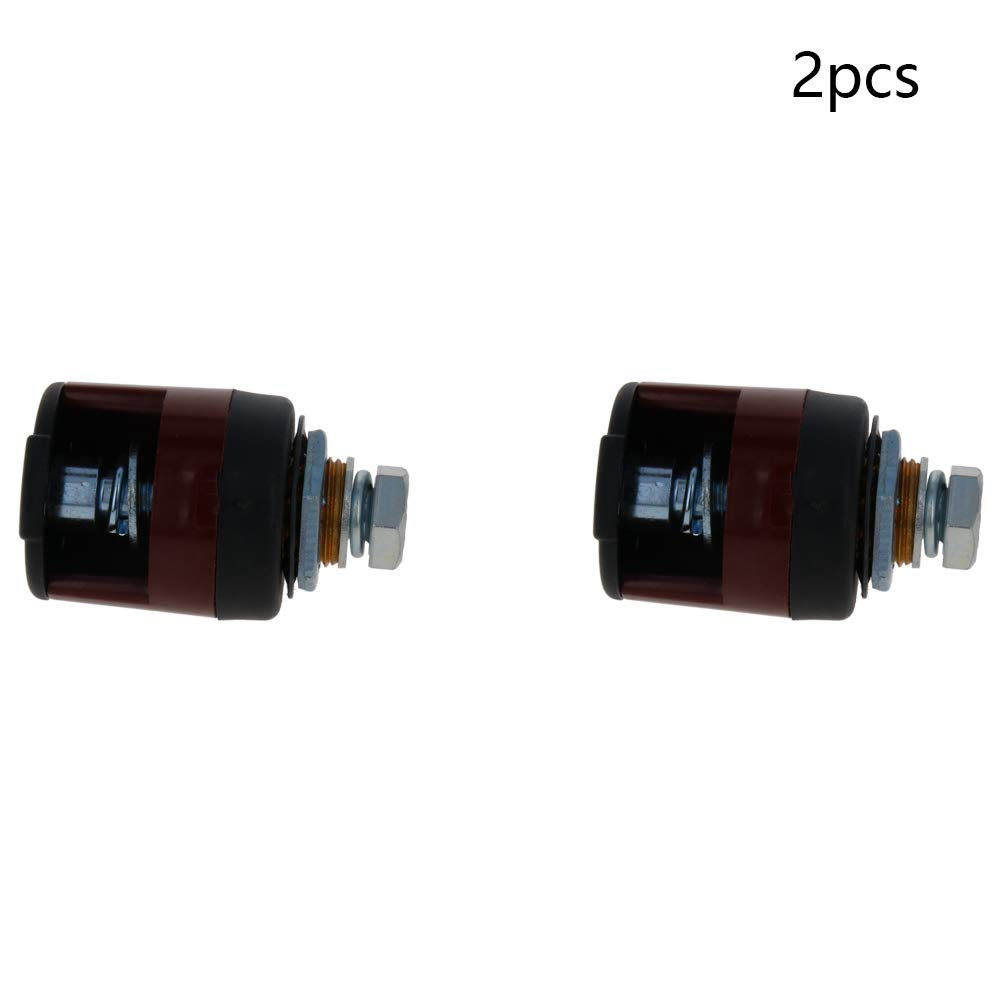 Utoolmart EDZ-95 Welding Cable Connector Joint Set 2 Ruber Cover Quick Connector Set 2PCS