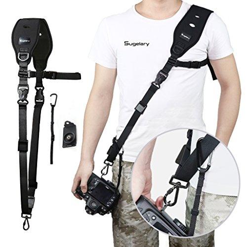 Sugelary Camera Strap, Quick Release Shoulder Neck Sling Strap Belt for Camera DSLR SLR