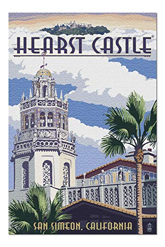 Hearst Castle - Tower - San Simeon, CA (20x30 Premium 1000 Piece Jigsaw Puzzle, Made in USA!)