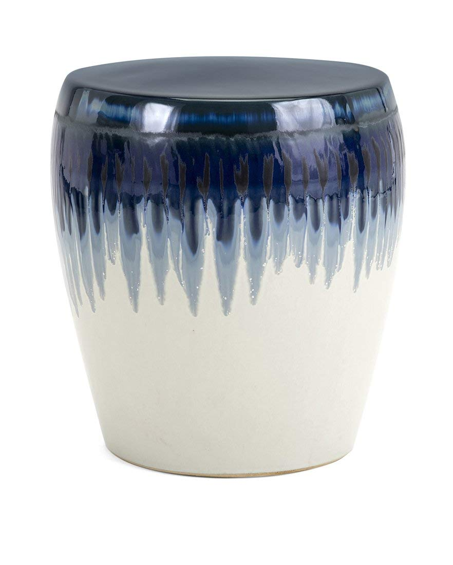 Imax 13724 Hamako Ceramic Garden Stool